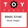 89465-32160 Toyota Sensor, oxygen 8946532160, New Genuine OEM Part