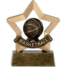 Basket Ball Trophy mini star. *Free Engraving* schools, parties, clubs stag do