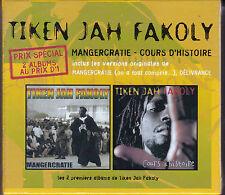 RARE COFFRET 2 CD TIKEN JAH FAKOLY MANGERCRATIE & COURS D'HISTOIRE NEUF FRANCE