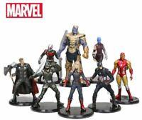 8pcs Marvel Avengers PVC Action Endgame 8-11cm Hulk ironman thor Collection toys
