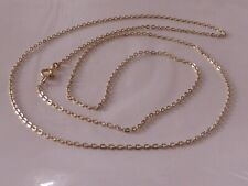 Gold 585 Gold Chain 14K Yellow Gold Necklace 76 cm Curb Chain Anchor Chain 1478