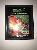 Berzerk (Atari 2600, 1982) Video Game Cartridge Only TESTED Work Perfect