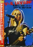 AVRIL LAVIGNE BONEZ TOUR 2005 - LIVE AT BUDOKAN DVD F/S w/Tracking# Japan New