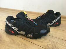 Men's Salomon  Speedcross 3 GTX 356467  Black/Silver Metallic-X, Size UK 8 EUR 4