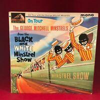 THE GEORGE MITCHELL MINSTRELS On Tour 1963 UK Vinyl LP BBC Black & White EXCELLE