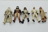 LOT OF VINTAGE KENNER STAR WARS ACTION FIGURES - 5 FIGURES