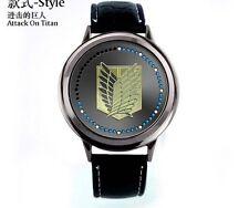 Attack on Titan Shingeki no Kyojin Scouting Legion LED Watch Wrist watches Anime