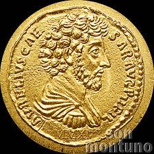 2011 Palau - ROMAN EMPIRE SERIES #16 Marcus Aurelius 1/2gram 24k Gold Coin + COA