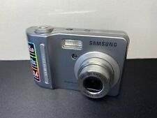 Samsung Digimax D53 5.1MP Classic Digital Camera - Silver TESTED AND WORKING