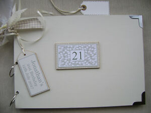 PERSONALISED. 21ST BIRTHDAY A4 SIZE.PHOTO ALBUM/SCRAPBOOK/MEMORY BOOK.