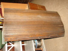 "Antique Solid Oak 44"" Roll with Lock for Rolltop Desk - 44 1/2"" x 24"""
