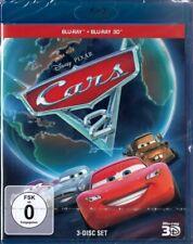 CARS 2 (Walt Disney, Pixar) Blu-ray 3D + 2 Blu-ray Discs NEU+OVP