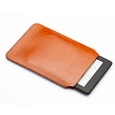Ultra Slim Microfiber PU Leather Sleeve Case Cover For Amazon Kindle Paperwhite
