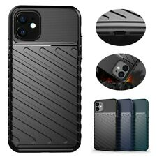 For iPhone 7/8/11 Pro Slim Anti-Slip Camera Protection TPU Shockproof Case Cover