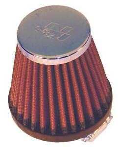 "RC-2310 K&N Universal Chrome Air Filter 1-9/16""FLG, 3""B, 2""T, 3""H (KN Universal"