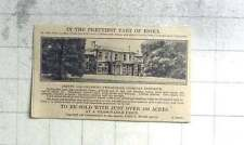 1927 Georgian Residence 14 Miles Colchester, Chelmsford 100 Acres For Sale