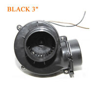 "Universal BLACK 3"" Electric Turbocharger/Supercharger Cold Air Intake Generator"