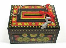 OSAKA JAPAN SAVING-BOX tin toy Bank Retro Collection TREAD MARK N From Japan