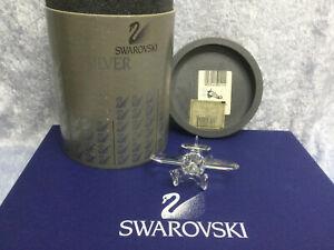 Swarovski Crystal Airplane 7473000002 152111. Retired 1999.MIB