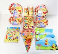 Winnie The Pooh Pack for 32 Children Party Decorations - Tableware & Banners