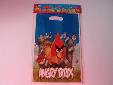 ANGRY BIRDS BIRTHDAY PARTY LOOT/LOLLY BAGS PK8