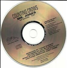 COUNTING CROWS Mr. Jones ORIGINAL 1993 PROMO Radio DJ CD single USA MINT