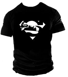 Premium Superman Hulk Gym workout T SHIRT Casual Wear training clothes MMA