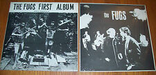"The FUGS 2 ESP-Disk 12"" LP records; First Album 1018 MONO & The Fugs 1028 STEREO"