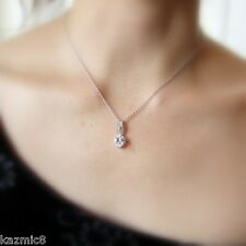 Flame Sterling Silver and Cubic Zirconia Necklace