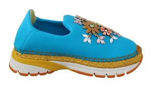 DOLCE & GABBANA Shoes Sneakers Crystal Home Décor ONE SINGLE PIECE RRP $560