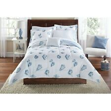 Mainstays Seashell Bed in a Bag Coordinating Bedding TWIN SIZE BRAND NEW FAST SH