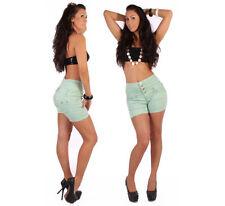 Shorts , bermuda e salopette da donna neri cotone , Taglia 40