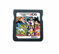 500 In 1 Video Game Card For Nintendo NDS 2DS 3DS NDSI NDSL Xmas Gift Multicart