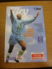 02/05/1994 Coventry City v Blackburn Rovers  . Thanks for viewing this item, buy