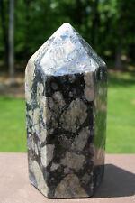 Que Sera Stone  Polished Crystal Point ~ Llanite ~ Blue Liberite