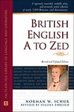 British English A to Zed (Facts on File Library of Language and Literature)