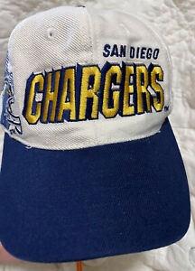 Vintage 90s Sports Specialties San Diego Chargers NFL Pro Line Snap Back Cap Hat