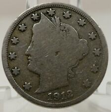 1912-S United States Liberty head V nickel, #67024