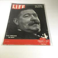 VTG Life Magazine February 5 1951 - Commissioner Tom Murphy / Paul Hoffman