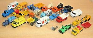 CORGI & HUSKY assorted lot - Leyland/ Dumper/ Ford Transit/ Cement Mixer etc