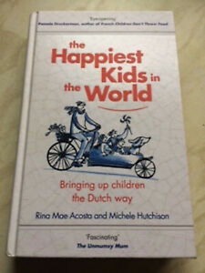 The Happiest Kids In The World by Rina Mae Acosta & Michele Hutchinson LIKE NEW