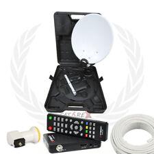 Kit Parabola portatile + decoder SAT multistream S2X Octagon compatibile Tivùsat