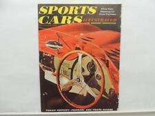 Nov 1958 Sports Cars Illustrated Maserati 3.35 Gran Turismo Ferrari Testa L9008