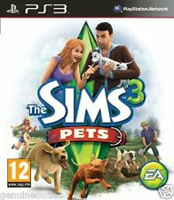 PS3 The Sims 3 Pets Playstation 3 Brand New Factory Sealed