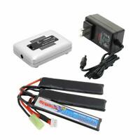 Tenergy 11.1V 1000mAh LiPO 20C Airsoft Crane Battery Pack with Charger Option