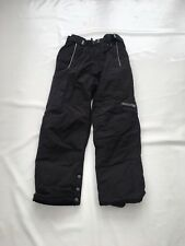 "Childs Campari Black Snow Boarding Trousers  Sz Waist 26"" #3"