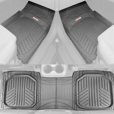 Motor Trend Deep Dish Rubber Car Floor Mats All Weather Spill Capturing Gray Fits 2003 Honda Pilot