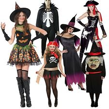 New Womens Ladies Fancy Dress Halloween Stag Party Night Out Adult Costume 8-16