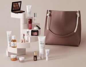 The HARRODS Beauty Gift in a Tote Bag, Beauty Kit Worth Over £300 Harrods Gift