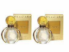 Mini Miniature Bulgari BVLGARI Goldea Femme Travel Woman Perfume 5 ml EDP x2